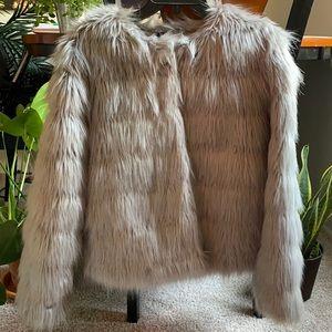 H&M Divided Faux Fur Coat